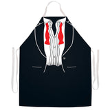 Attitude Apron After Party Tux Apron - LA IMPRINTS