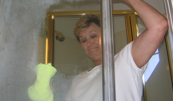 How to Clean White Spots off Shower Doors
