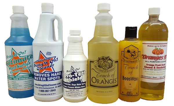 Family of Fine Cleaning Products | Touch of Oranges