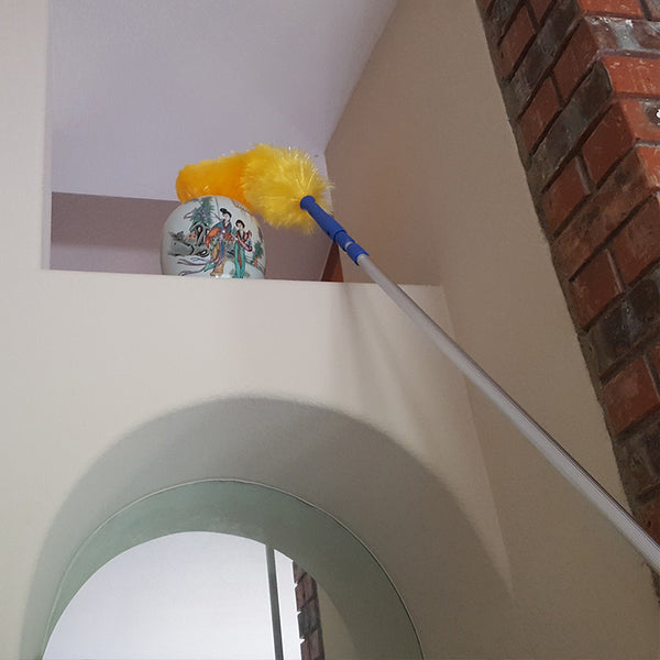 Extension Duster Reach High Ceilings Touch Of Oranges