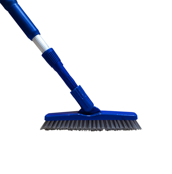 Bring It On Grout Scrub Brush Plus Ext Pole