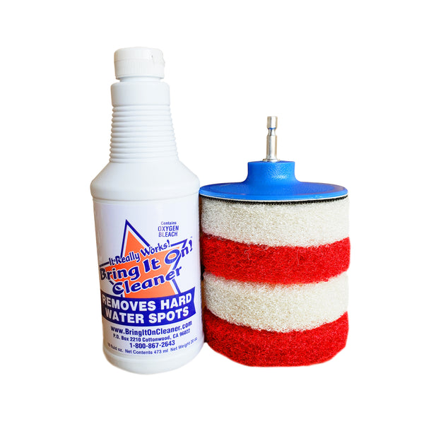 shower door cleaner kit