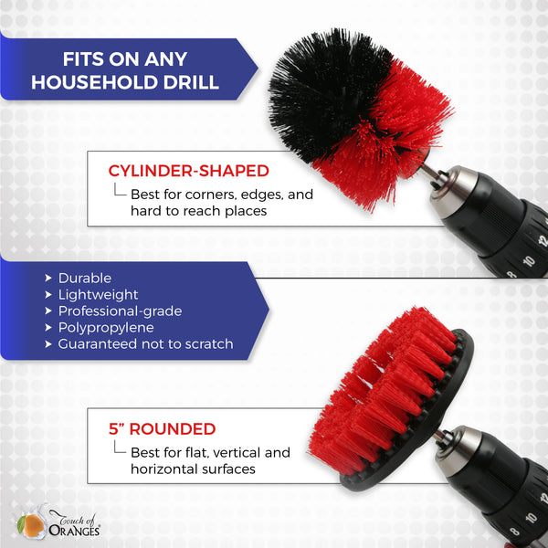 Cleaning Drill Brushes