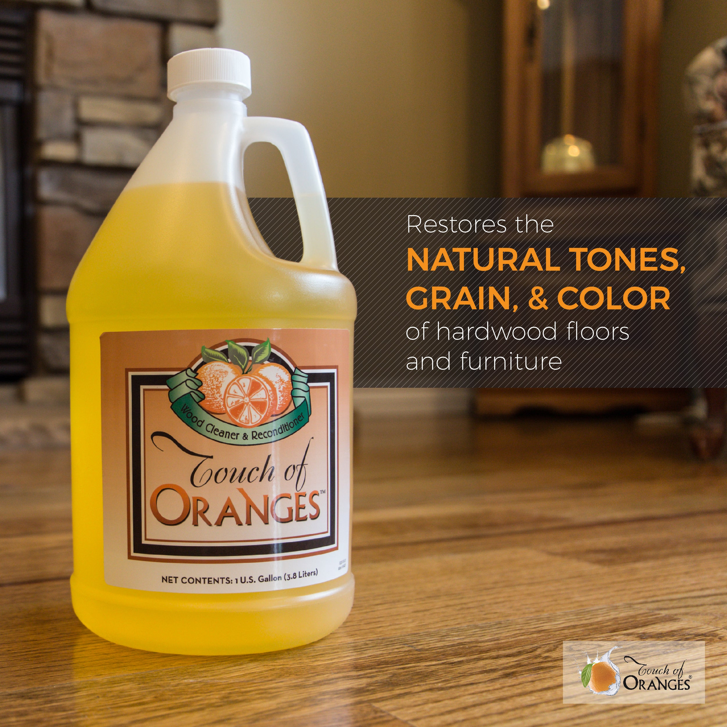 Touch Of Oranges Large Set Clean Cabinets Wood Furniture Cleaner
