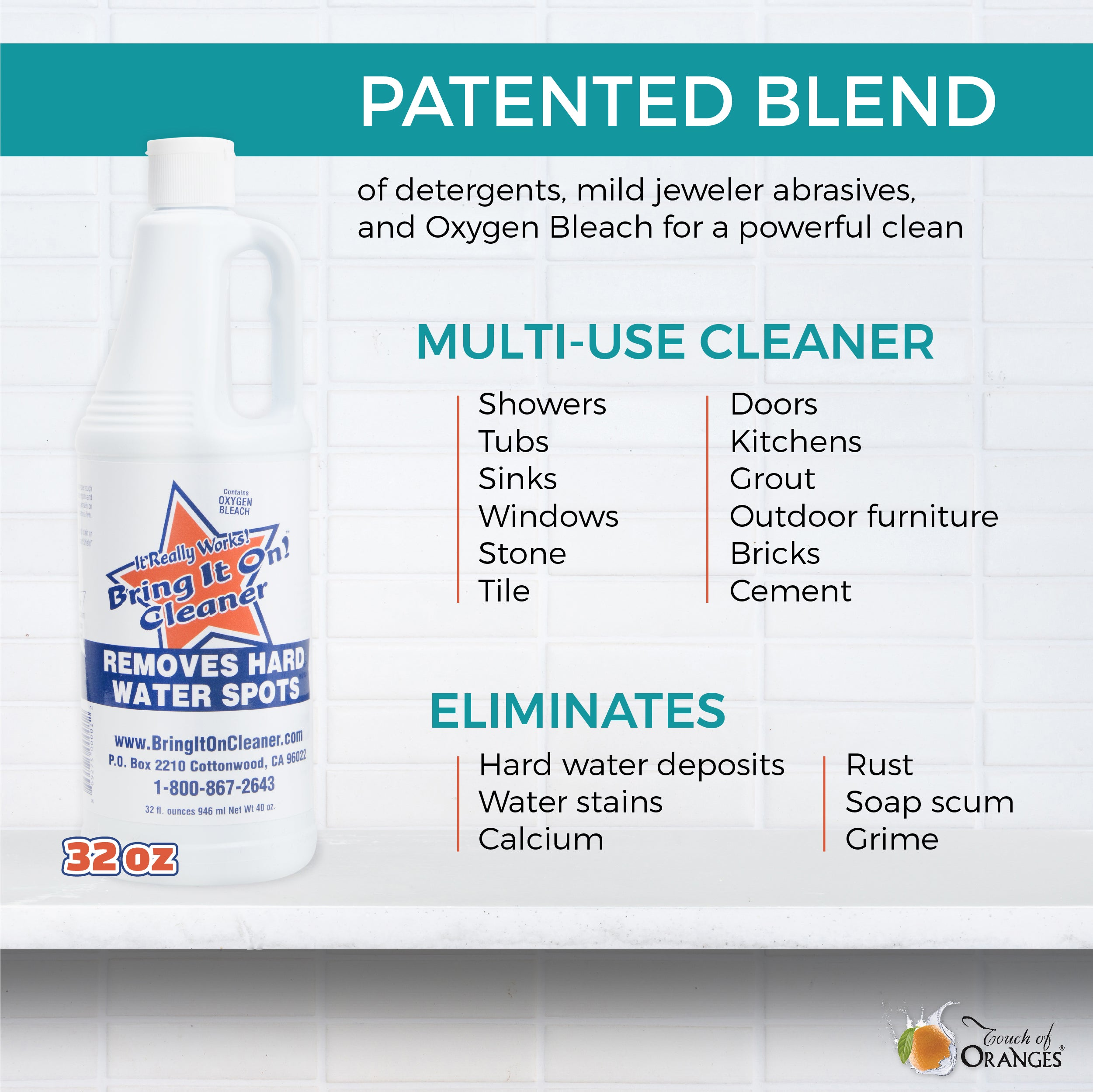 Hard Water Stain Remover Windows