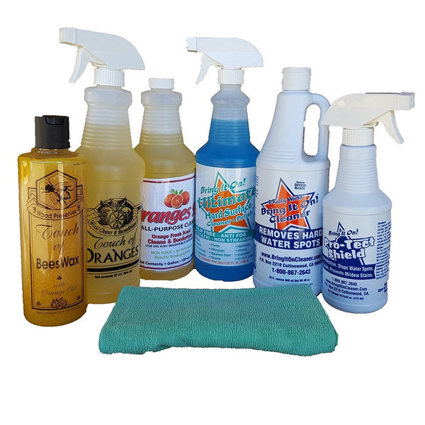 Bargain Bundle of Cleaning Products | Touch of Oranges
