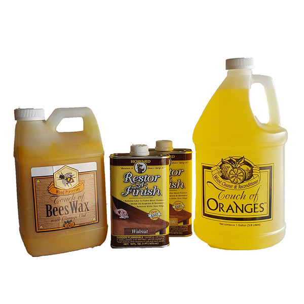 Complete Wood Restoration Kit Large | Touch of Oranges