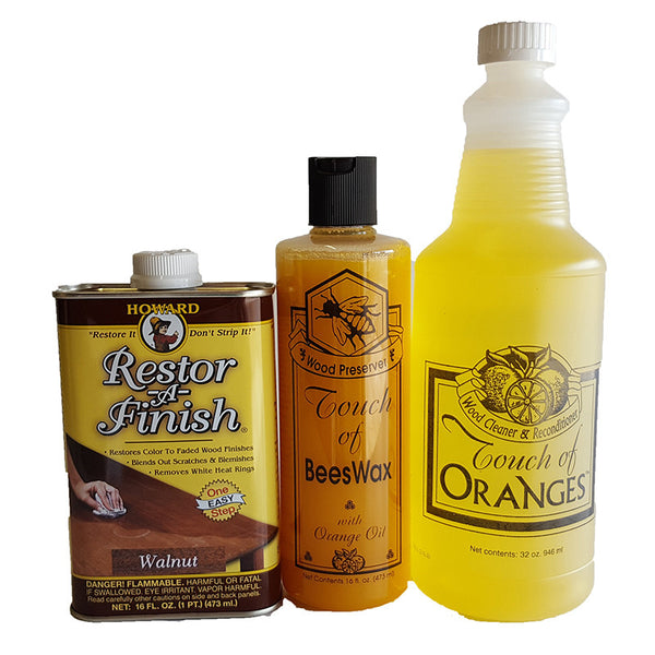 Complete Wood Restoration Kit Small Touch of Oranges