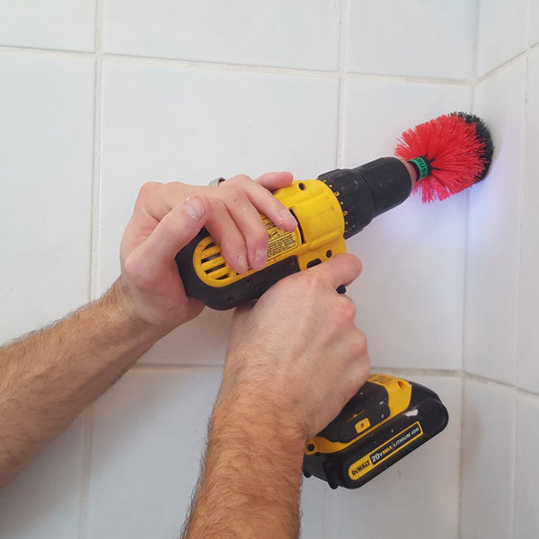 Corner Drill Brush | Touch of Oranges