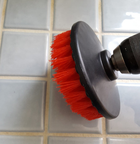 Flat Drill Brush | Tile Cleaning | Touch Of Oranges
