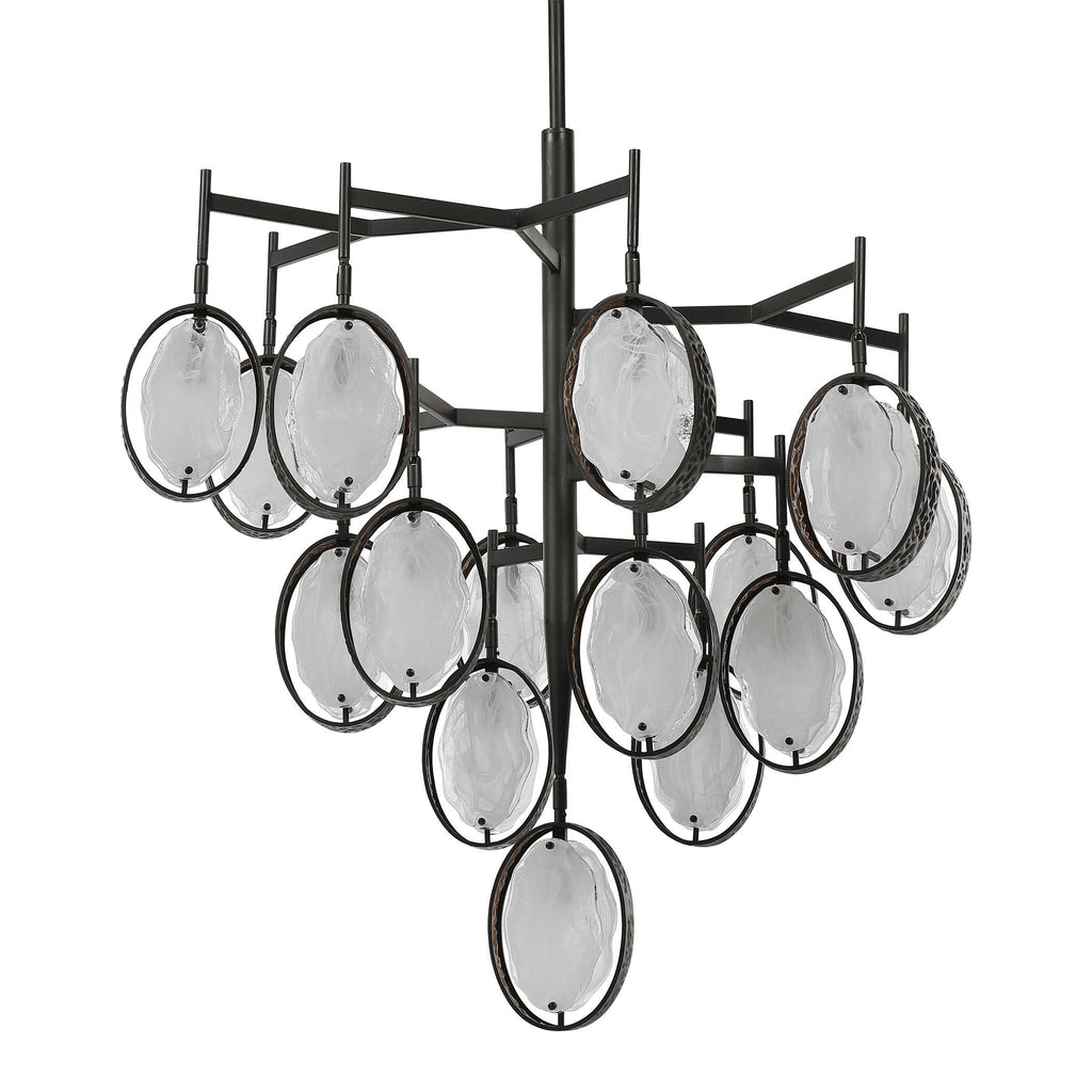 Maxin, 15-Light Large Chandelier - The Hive Experience