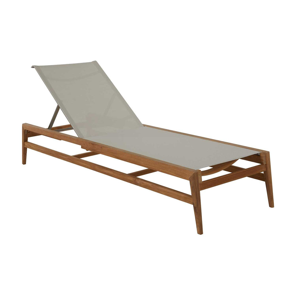 Coast Teak Chaise Lounge - The Hive Experience