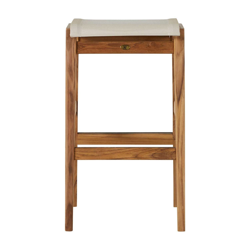 Coast Teak 30″ Backless Bar Stool - The Hive Experience