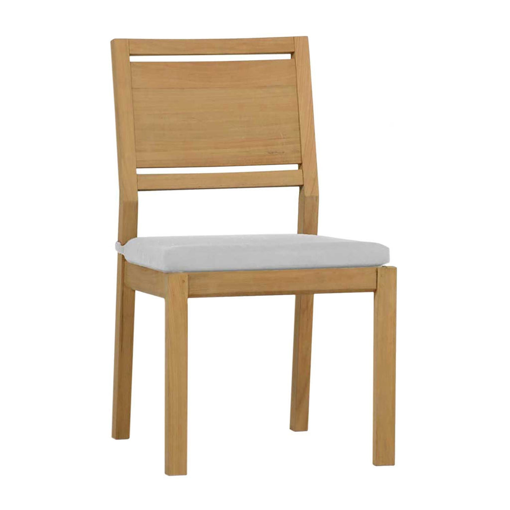 Avondale Teak Side Chair - The Hive Experience
