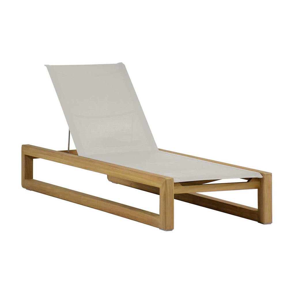 Bali Teak Chaise - The Hive Experience
