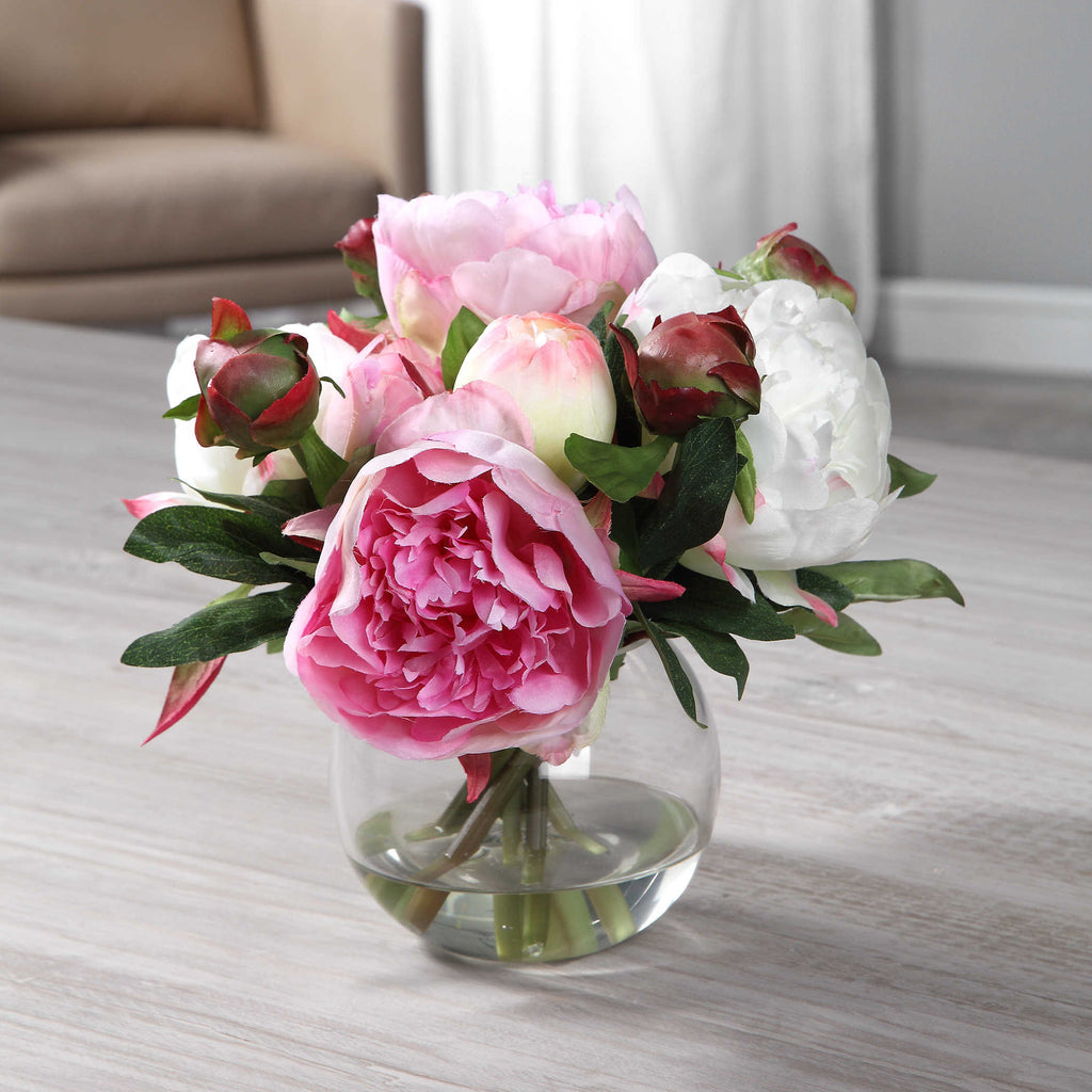 Blaire Peony Bouquet - The Hive Experience