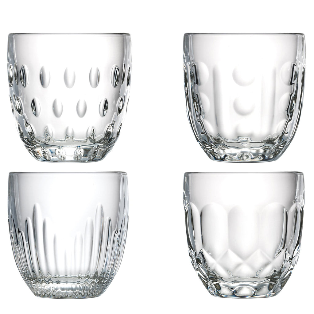 Troquet Assorted Tumblers - Set of 4 - The Hive Experience