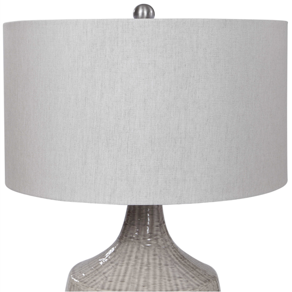 Felipe Gray Table Lamp - The Hive Experience
