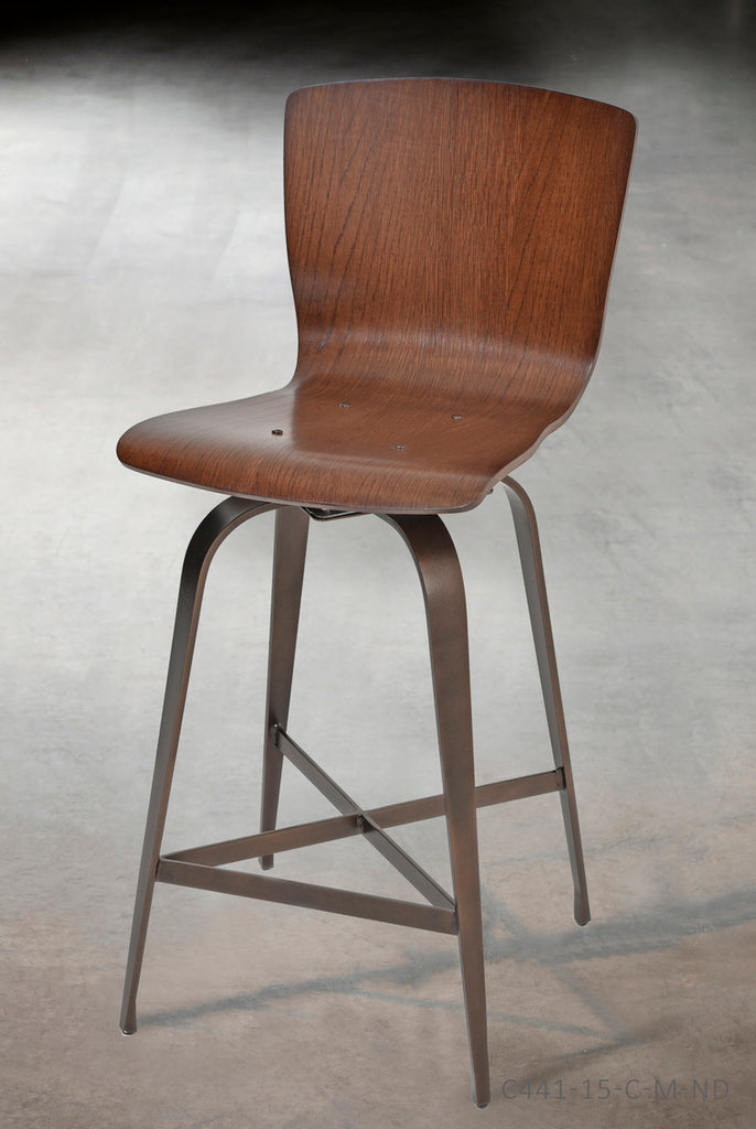 "Fresno Swivel Barstool - 30"" - The Hive Experience"