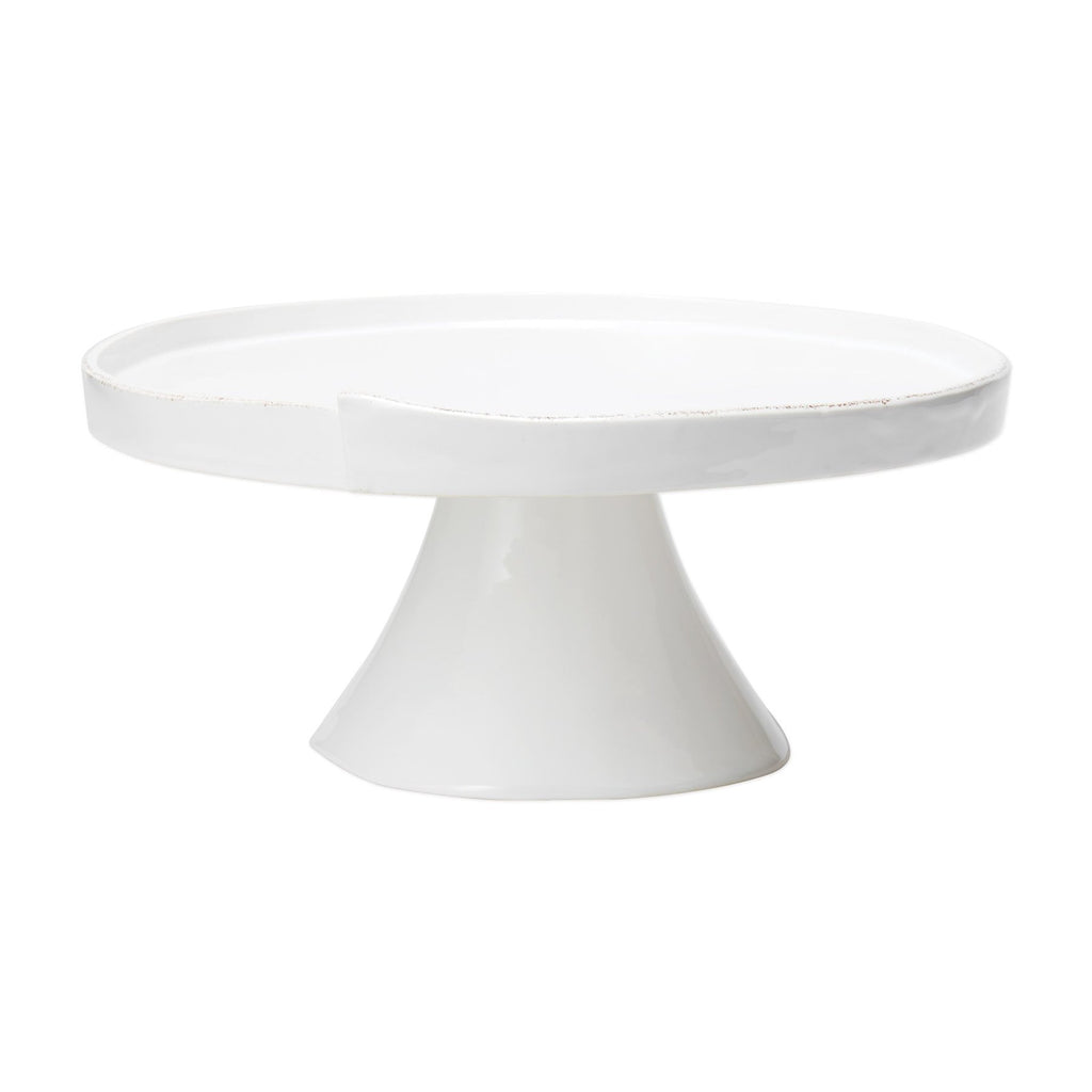 Lastra White Large Cake Stand - The Hive Experience