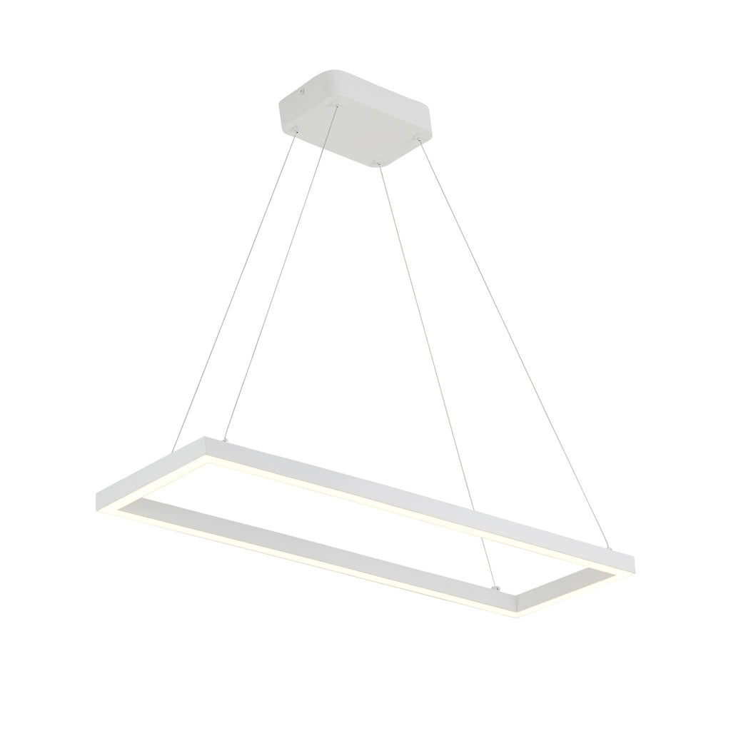 Piazza Pendant - White - The Hive Experience