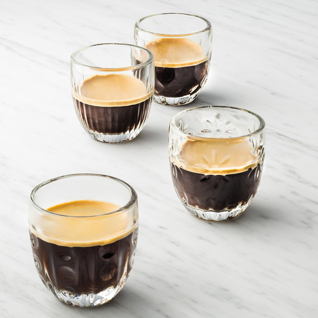Troquet Assorted Espresso Cup - Set of 4 - The Hive Experience