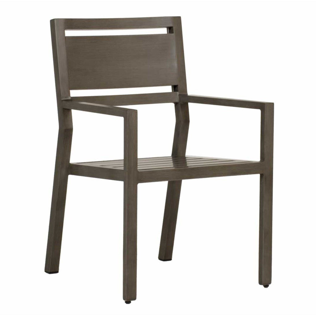 Avondale Aluminum Arm Chair - The Hive Experience