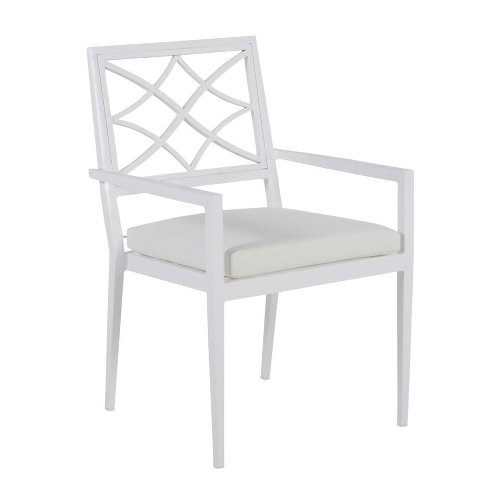 Elegante Aluminum Arm Chair - The Hive Experience