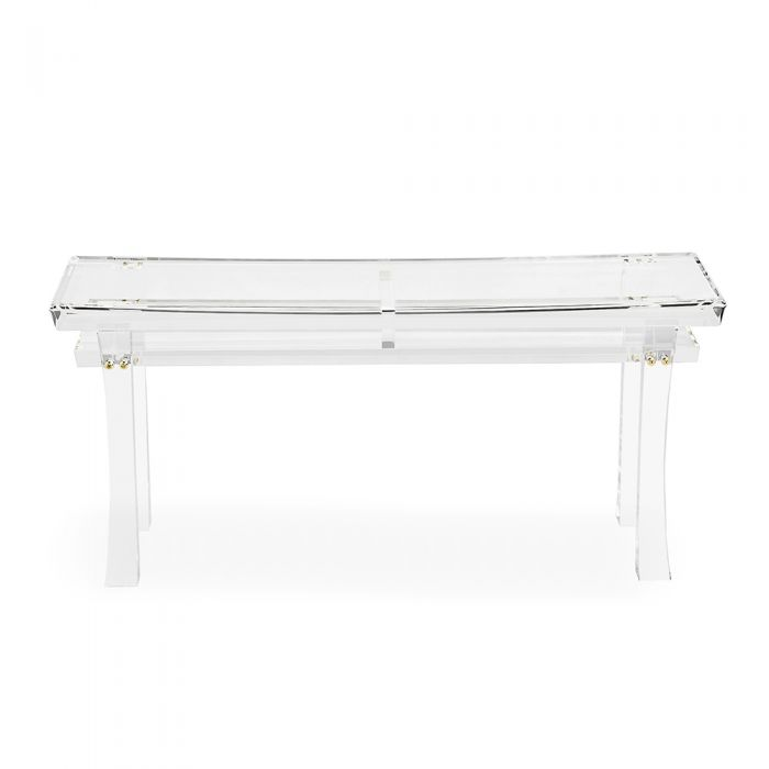 Keiko Acrylic Bench - The Hive Experience