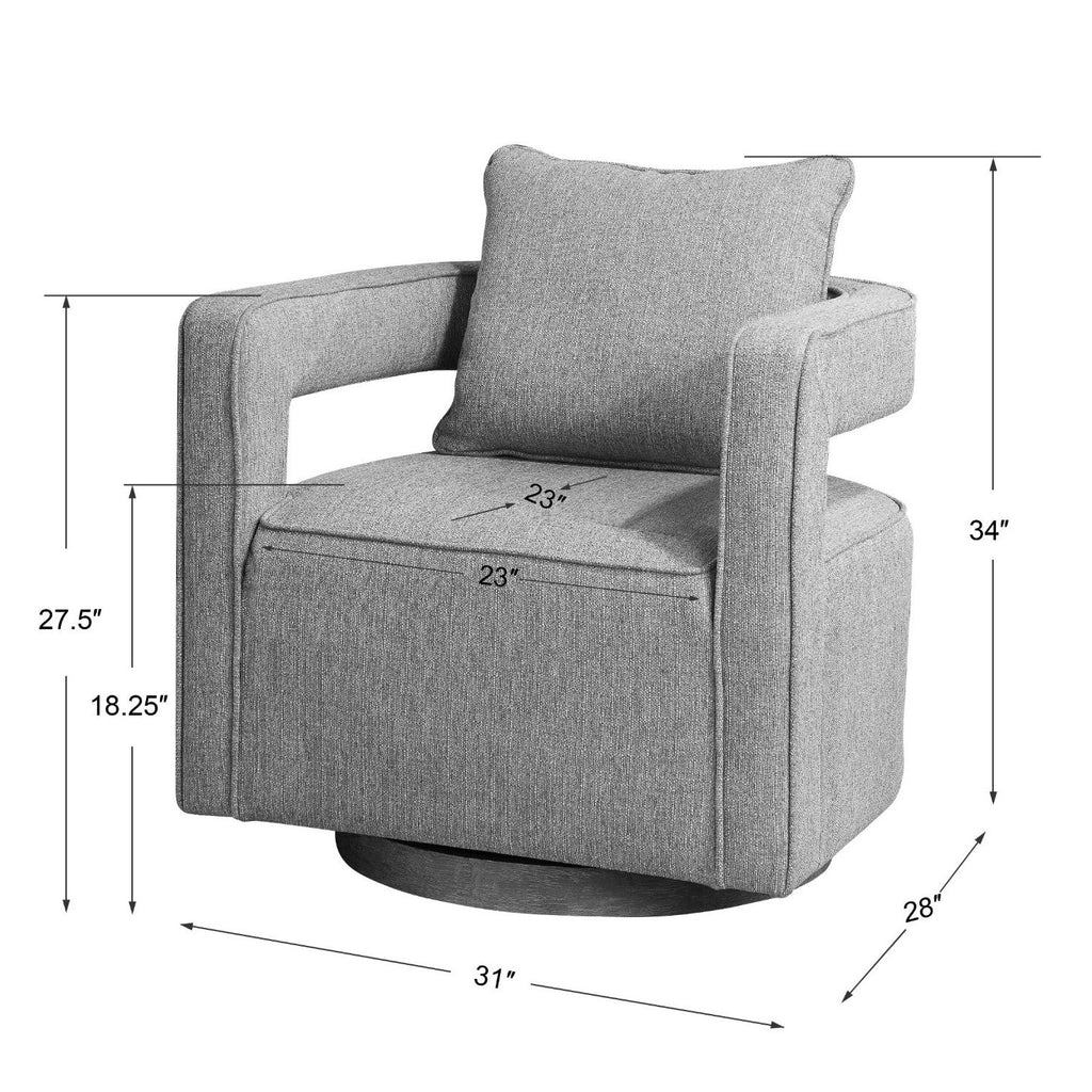 Nixon Swivel Chair - The Hive Experience