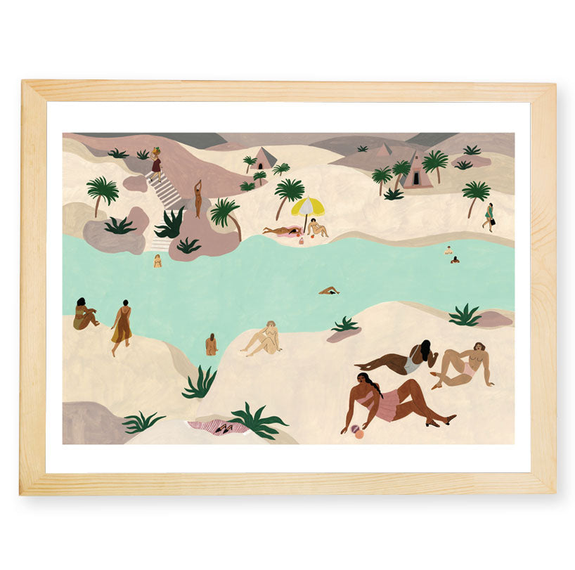 River in the Desert — by Isabelle Feliu