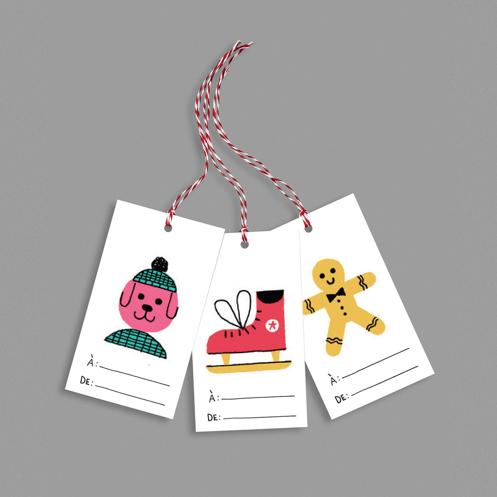Gift tags BAZAR collection