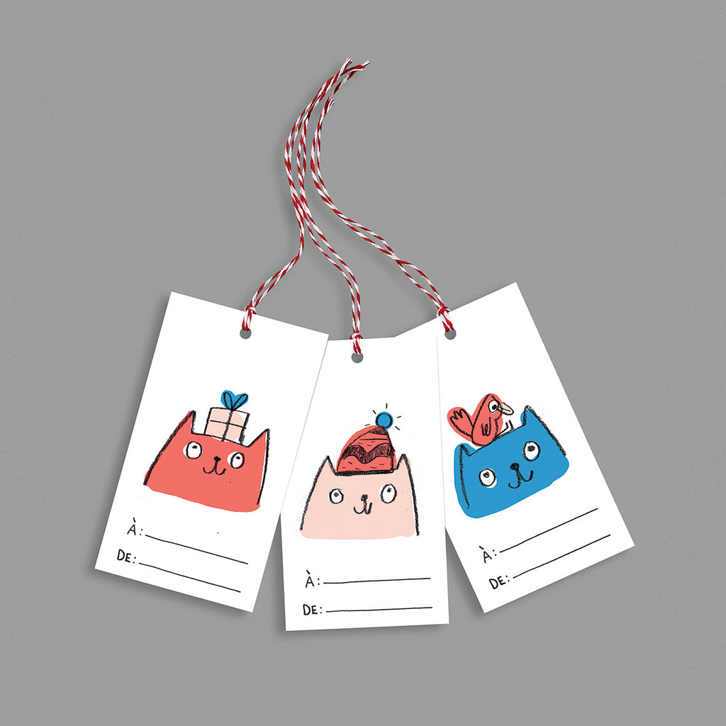 Gift tags Kitten collection