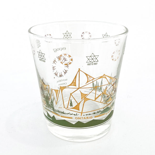 EXPO 67 ONTARIO PAVILION GLASS — Vintage collection