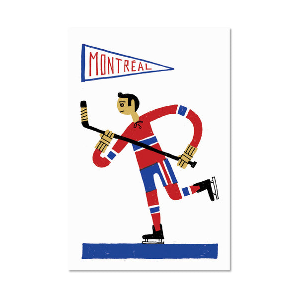 HOCKEY Postcard
