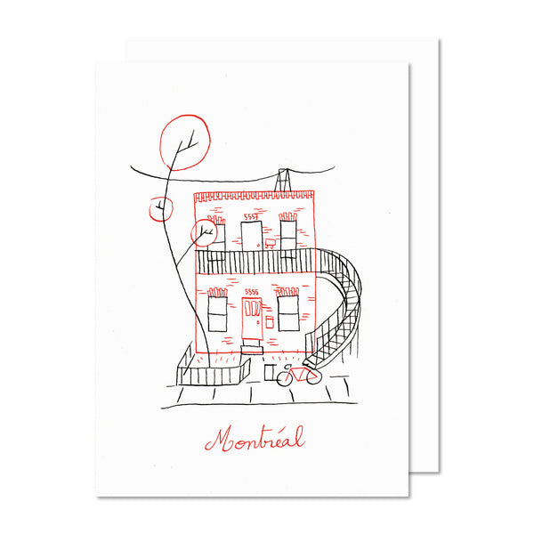 DUPLEX Greeting card