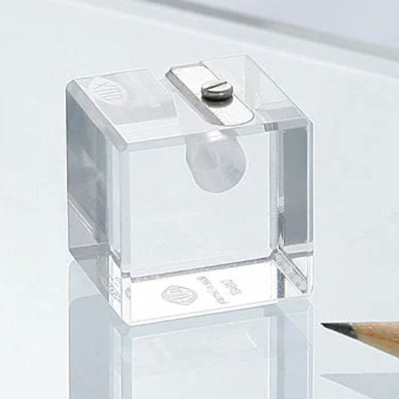 DUX –  Luxury Acrylic Cube Shaped Sharpener