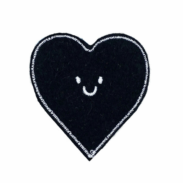 Black small heart