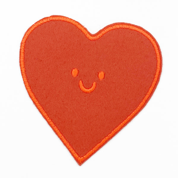 Red orange heart