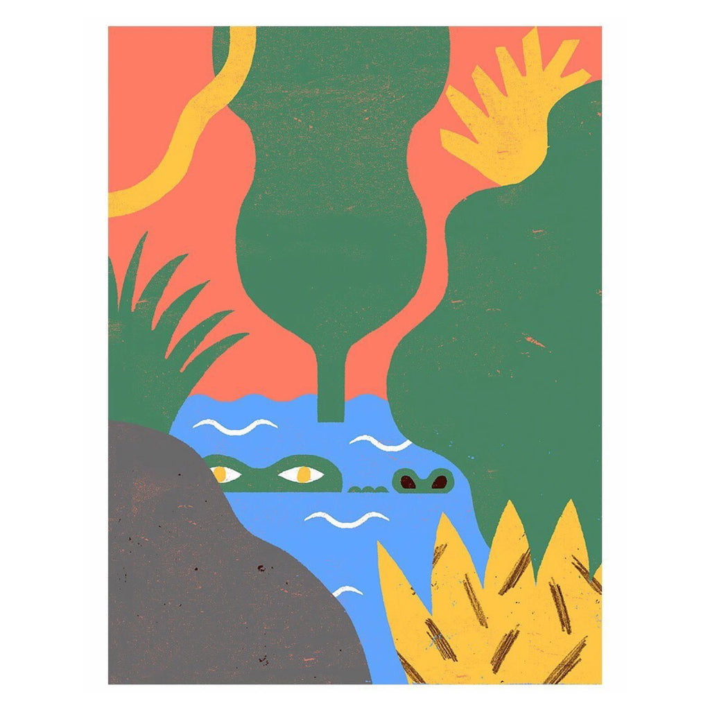 The Jungle series Crocodile — by Amélie Lehoux