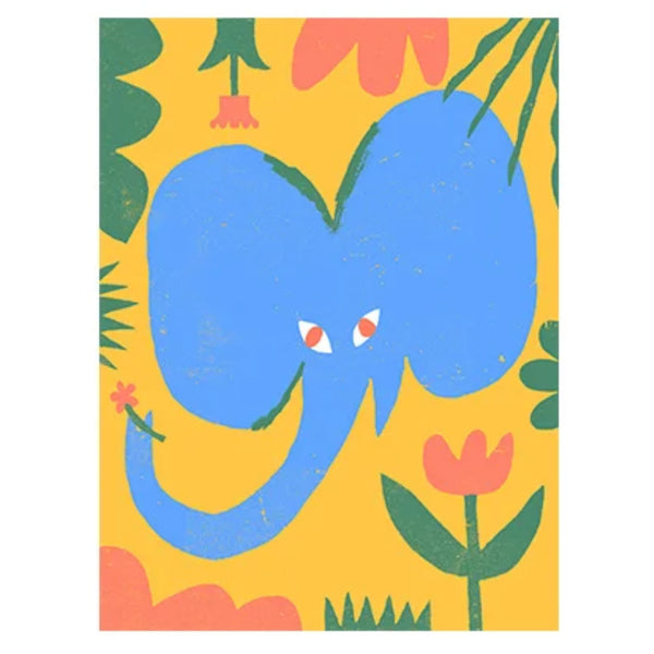 The Jungle series elephant — by Amélie Lehoux
