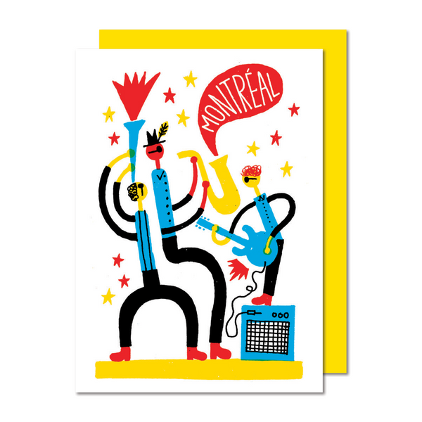 FESTIVAL Greeting card