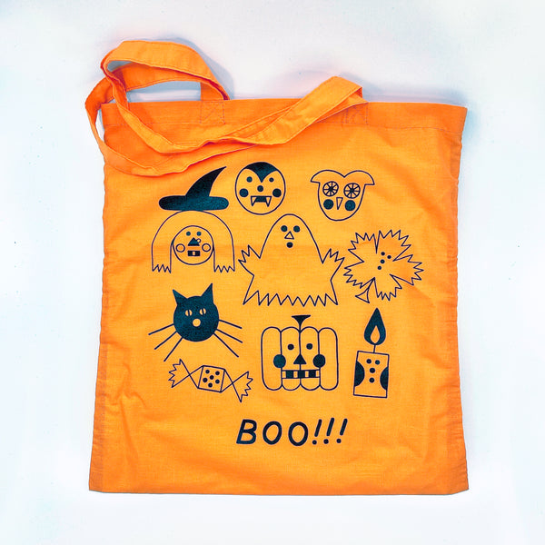 HALLOWEEN ORANGE CANDY BAG