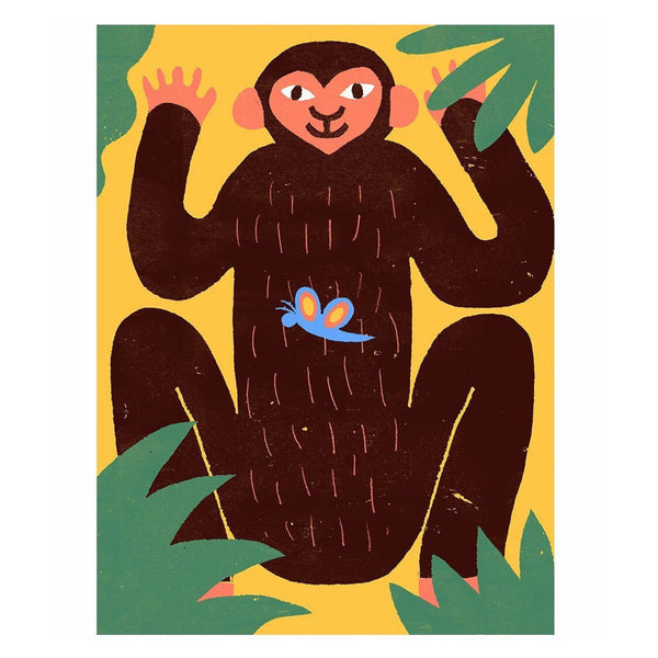 The Jungle series Monkey — by Amélie Lehoux