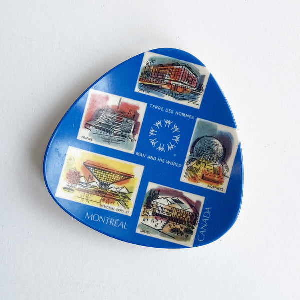 EXPO 67 TRAY — Vintage collection