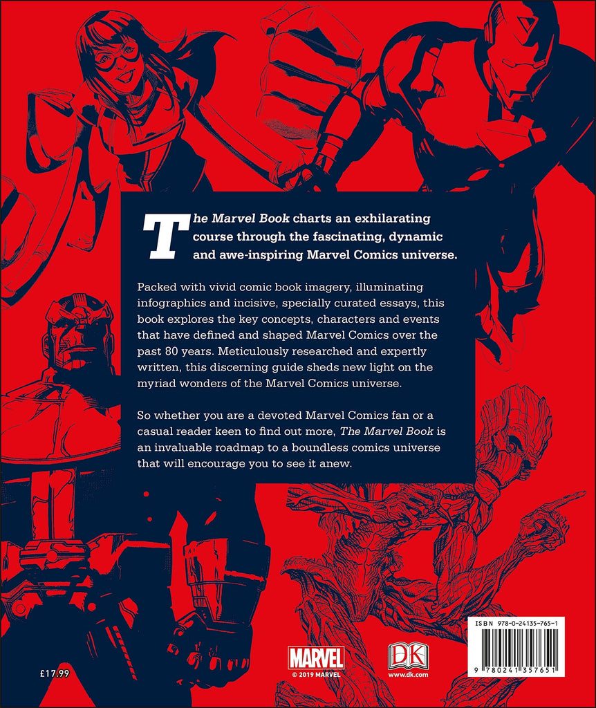 The Marvel Book - New Book