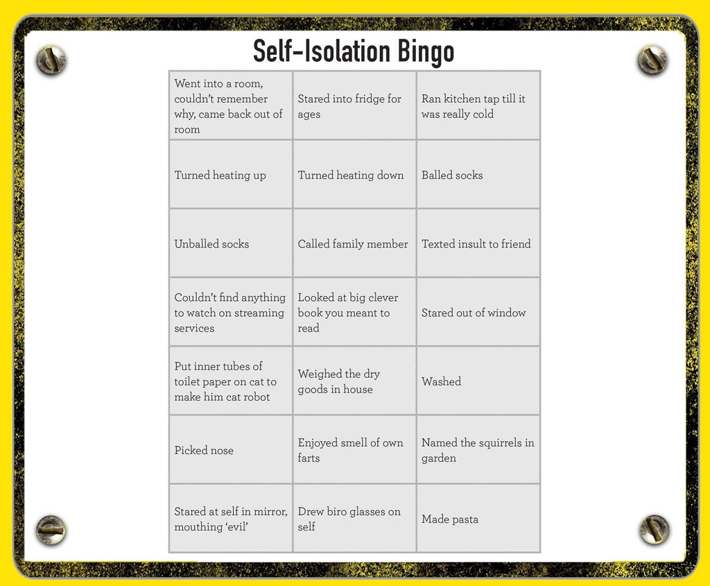 Self Isolation Activity Book - New Book