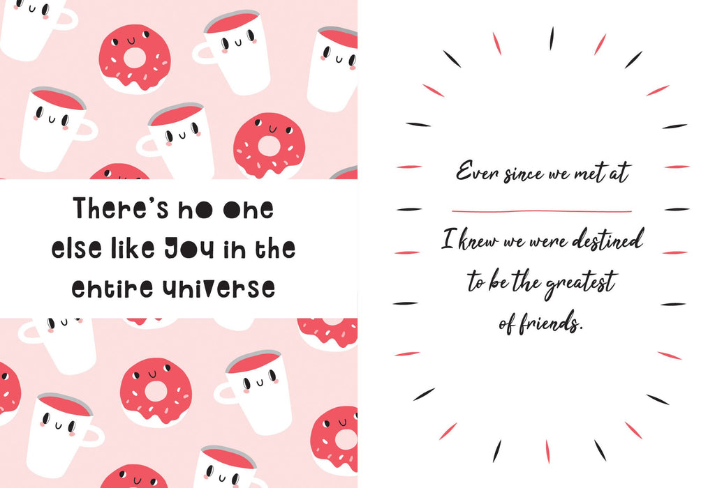 You Are The Best Friend In The Whole World Because... - New Book