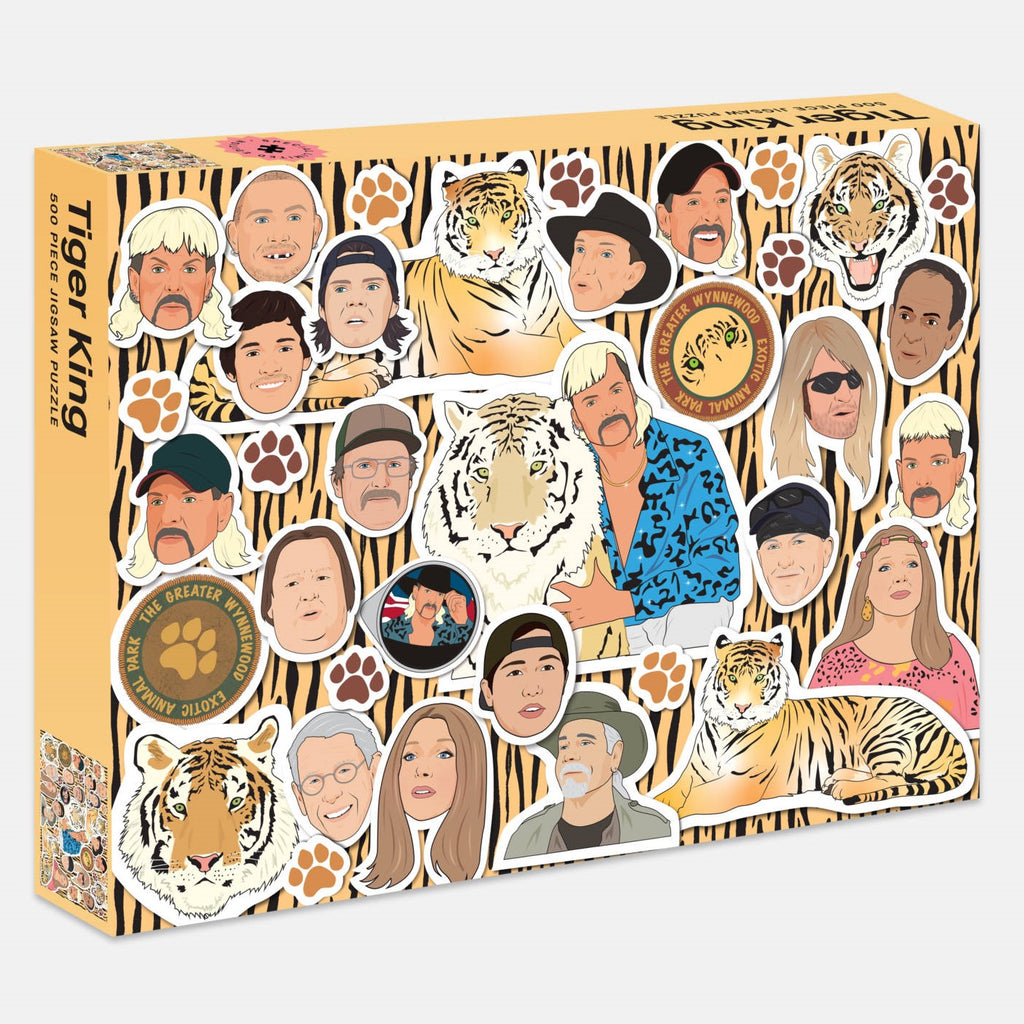 The Tiger King 500 Piece Jigsaw Puzzle