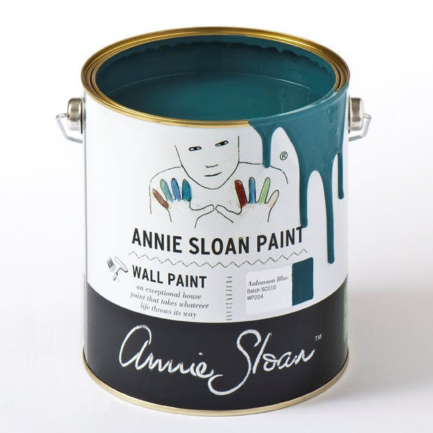 Annie Sloan Wall Paint - Aubusson Blue